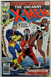 Uncanny-X-Men-124-FN-Wolverine-Storm-Cyclops-John-Byrne-Marvel-Comics-1979