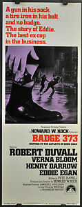 BADGE-373-ORIGINAL-1973-14X36-MOVIE-POSTER-ROBERT-DUVALL-VERNA-BLOOM
