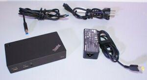 LENOVO-ThinkPad-USB-3-0-Pro-Dock-40A7-Station-Accueil-AC-Adaptador-ADLX45DLC3A