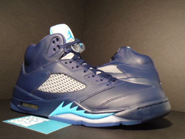 Nike Air Jordan Retro 5 Hornets Midnight Navy Blue Size 13 13 for sale  online  d5d3f3203
