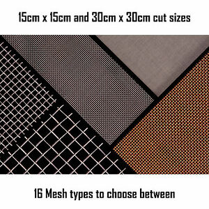 Woven-Wire-Mesh-Sheet-15cm-and-30cm-square-Fine-Screen-Heavy-Duty-Coarse