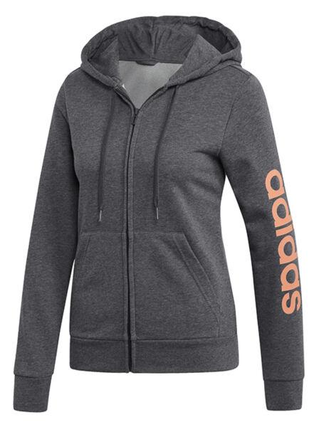 Kapuzenjacke Damen ADIDAS E HD EI0660 Jacke Sportjacke Pullover Sweatshirt