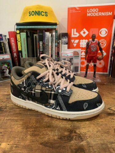 Nike SB Dunk Low -- Travis Scott Cactus Jack Size