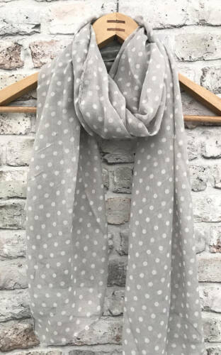1950/'s scarf Womens Polka dot scarf birthday gift spotty scarf