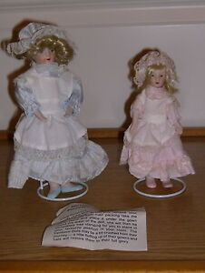 BNIB  Porcelain Mother amp Daughter Heirloom Collectors Dolls 2 - <span itemprop=availableAtOrFrom>Eastleigh, United Kingdom</span> - BNIB  Porcelain Mother amp Daughter Heirloom Collectors Dolls 2 - Eastleigh, United Kingdom