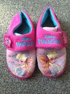 Disney Frozen Zapatillas. Talla 10-11