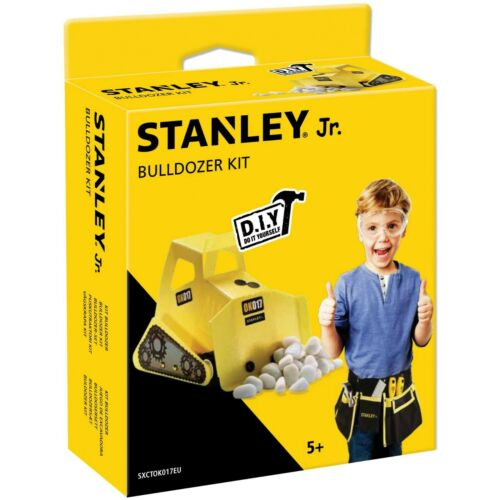 STANLEY Jr BULLDOZER - DIY WOOD BUILDING KIT NEW