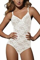 Bali Lace 'n Smooth White Body Briefer Bra Size 40c
