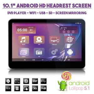 android hd voiture appui t te wifi dvd cran moniteur pour enfants movies ebay. Black Bedroom Furniture Sets. Home Design Ideas