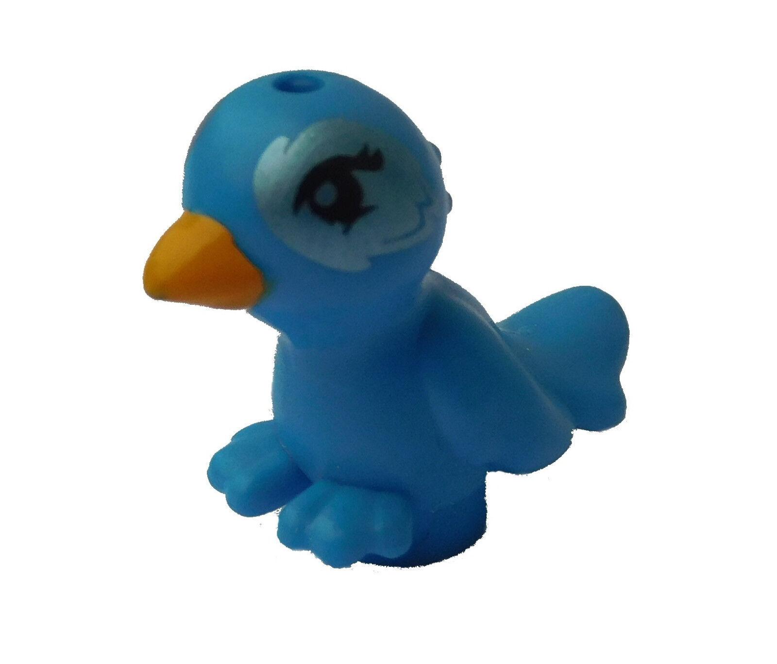 Lego Bird in Dark Azur Blue Cleo New Dark Azure Bird 98388pb07