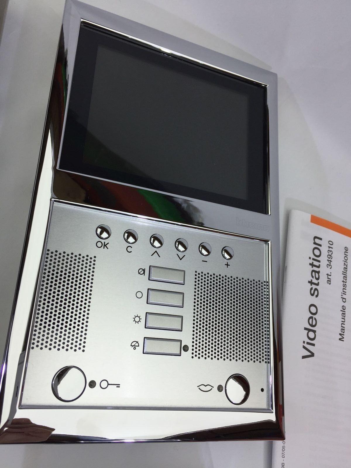 Bticino Terraneo 2-draht Farbe Video Hände frei Internen Einheit Axolute SCS 2