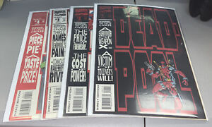Deadpool The Circle Chase #1-4 Marvel Complete 1993 Madureira 1 2 3 4