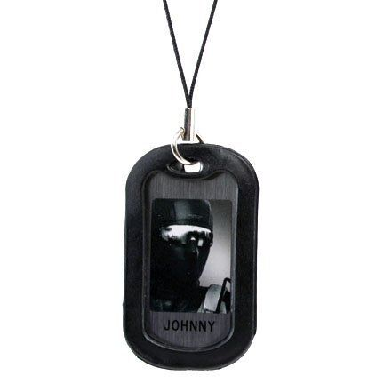 Dogtag Metal Gear Solid 4 Johnny by Koro Koro