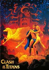 Clash Of The Titans Art Movie Poster 24x36