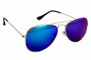 Aviator Sunglass in Royal Shade in Mercury With Mirror Lens(Goggles)