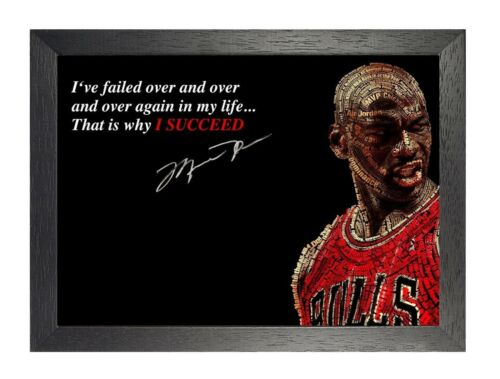 Motivation Ive Failed Basketball Inspiration Quote Poster Sport Sugnature Photo