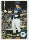 ANTHONY RIZZO 2011 Topps Rookie Card RC Chicago Cubs 2016 World Series Champions