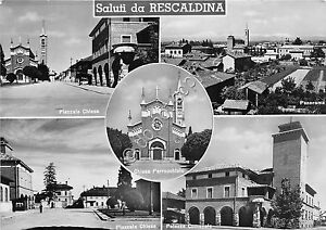 Cartolina-Postcard-Saluti-da-Rescaldina-vedutine-1957