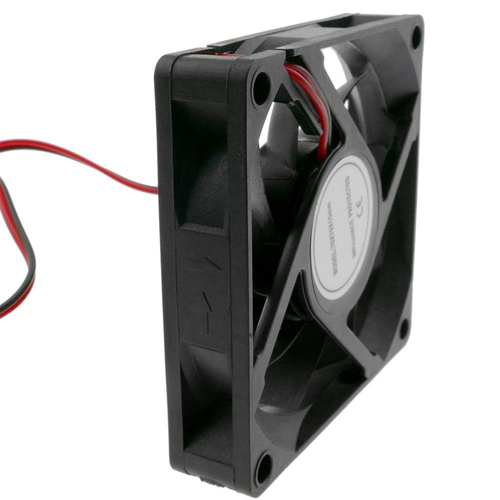 Ventilador de chasis 60x60x25 mm de 12 VDC para caja de ordenador