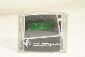 6421A-Applied-Marketing-VC-501-Digital-Clock-On-Dash-Green-Display