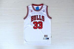 White Chicago Bulls Dennis Rodman # 91 Retro Swingman Basketball Jersey UK