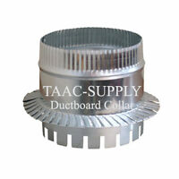 Sheet Metal Ductboard Take Off Start Collar For Hvac Duct Work 4 5 6 7 8