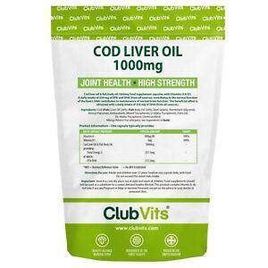 OLIO-di-fegato-di-merluzzo-1000mg-ad-alta-resistenza-90-Capsule-JOINT-Omega-3-EPA-DHA-clubvits