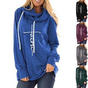 Women-Long-Sleeve-Faith-Letter-Print-Hoodie-Sweatshirt-Loose-Pullover-Tops-Coat