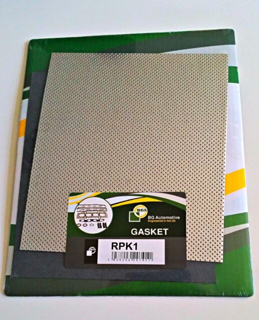 Triple Layer Heatproof Metal Exhaust Gasket One Large Sheet  250mmx300mm