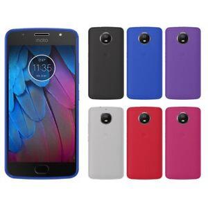 Funda-gel-lisa-Motorola-MOTO-G5S-protector-cristal-opcional
