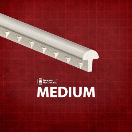 2-foot piece 3 pack Medium//Medium StewMac Medium Fretwire