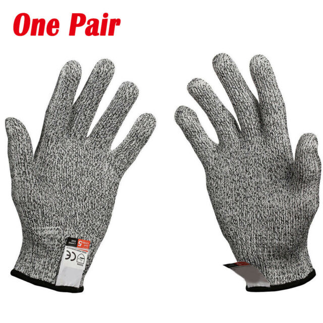 Safety Stainless Steel Cut Proof Stab Resistant Wire Metal Mesh Butcher Gloves