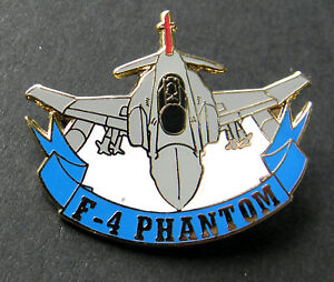 MCDONNELL DOUGLAS F-4 PHANTOM AIRCRAFT CUT-OUT LAPEL PIN 1.25 inches