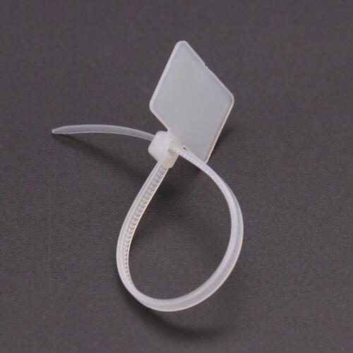 Cable Ties Tag Self-locking kabelbinder Nylon Plastik Zurr Labels Kabelbinder