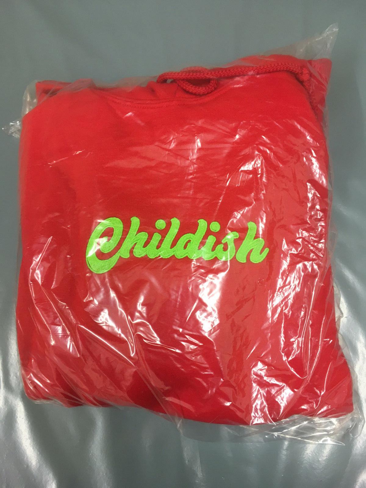 rosso Trasformante fattore di crescita Trasformante rosso Limited Edition infantile Felpa con cappuccio-L Taglia Large a67547