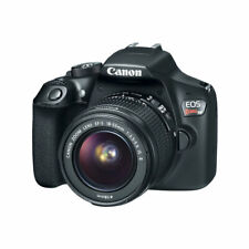 Canon EOS Rebel T6 18.0 MP Digital DSLR Camera - Black (Kit with  EF-S 18-55mm IS II Lens)