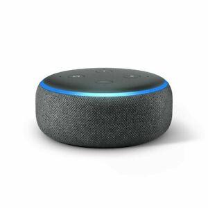 Amazon-Eco-Punto-3rd-Gen-Inteligente-Altavoz-con-Alexa-Carbon-Gris-Sellado