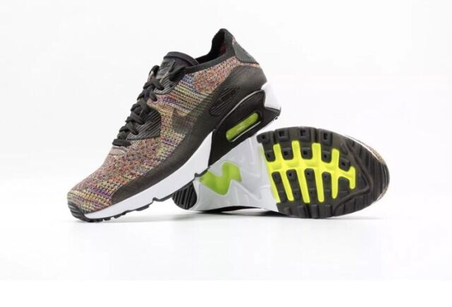 5e3c05f725d8 ... buy nike air max 90 ultra 2.0 flyknit mens 875943 002 multicolor run  shoes size 10