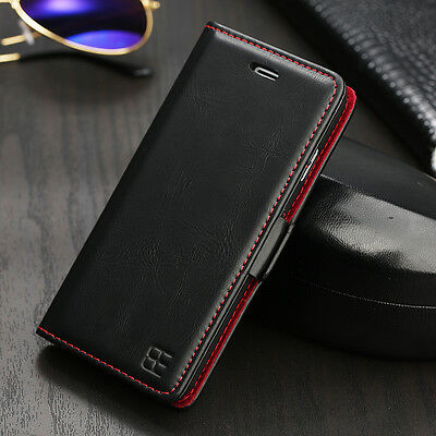 For iPhone X 8 7 6S 5 XS Max XR Luxury Flip Cover Wallet Card Leather Case Stand