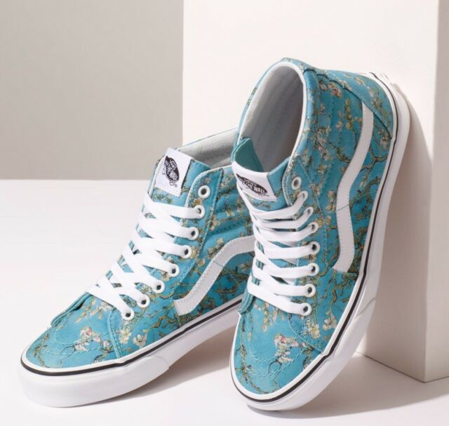 VANS X Van Gogh Museum SK8 Hi High Top Shoes 7.5