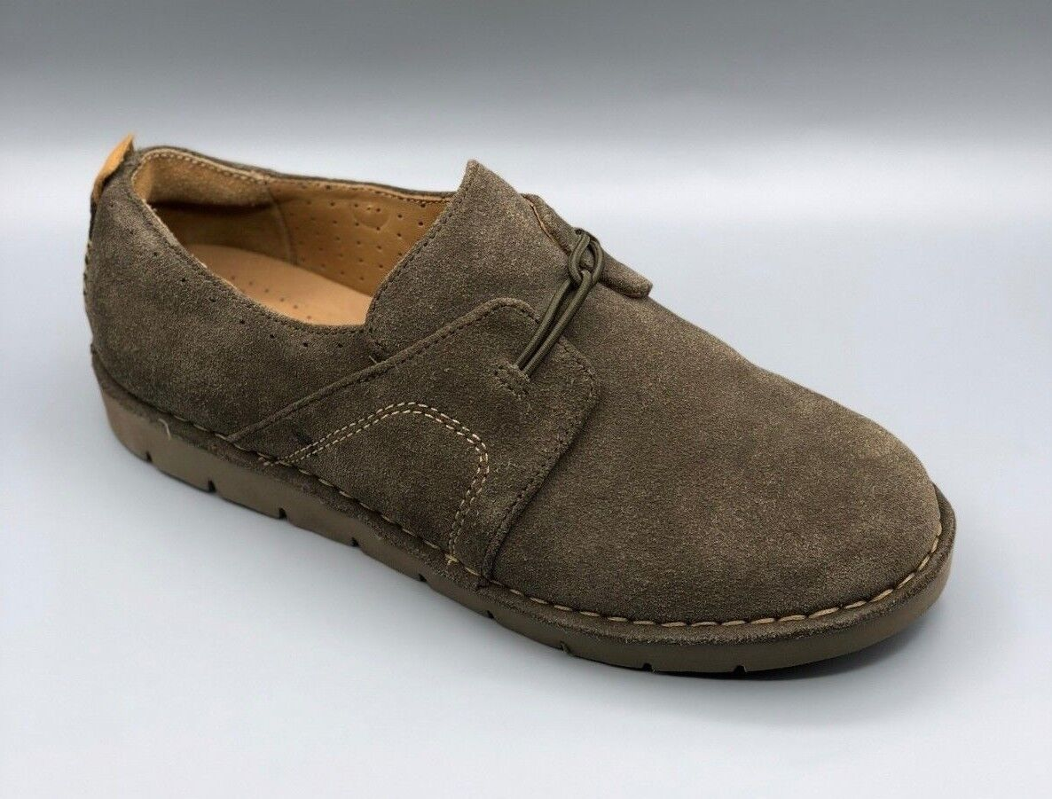 1531f81f5 NEW Clarks Ava Ladies Khaki Suede shoes UK 7 D Brogues Un ntjjsx6481-Women s  Comfort Shoes