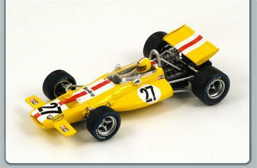 Mc Laren Laren Laren M7C J.Bonnier 1970 N.27 Retired Us Gp 1 43 Spark S3135 Model 091c0b