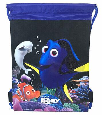 Disney Finding Dory Pink Drawstring Bag School Backpack