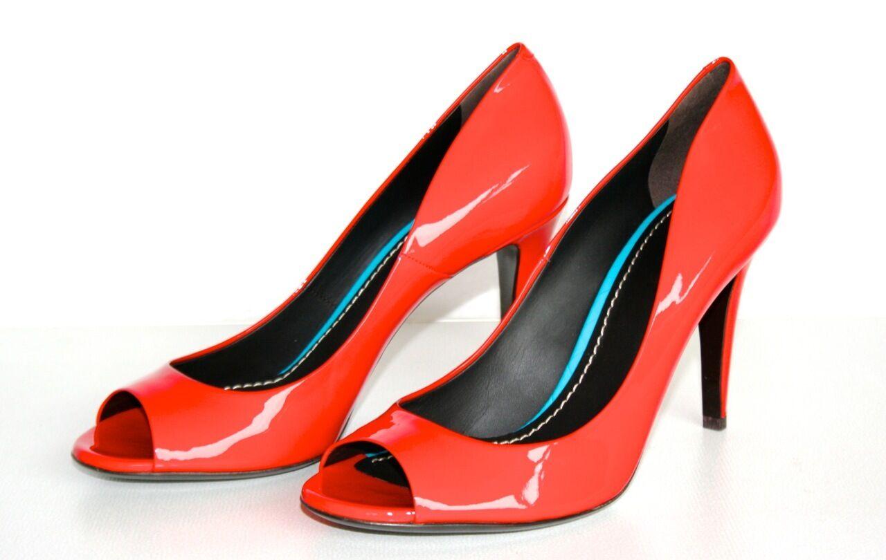 acquistare ora AUTHENTIC LUXURY BOTTEGA VENETA VENETA VENETA PUMPS scarpe VO310F rosso NEW US 6.5 EU 36,5 37  garanzia di credito