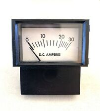 Made In Usa Prime Instruments Analog Current Panel Meter Dc 30a Amp Ammeter
