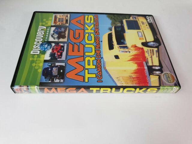 dvd MEGA TRUCKS I CAMION CHE FANNO SPETTACOLO
