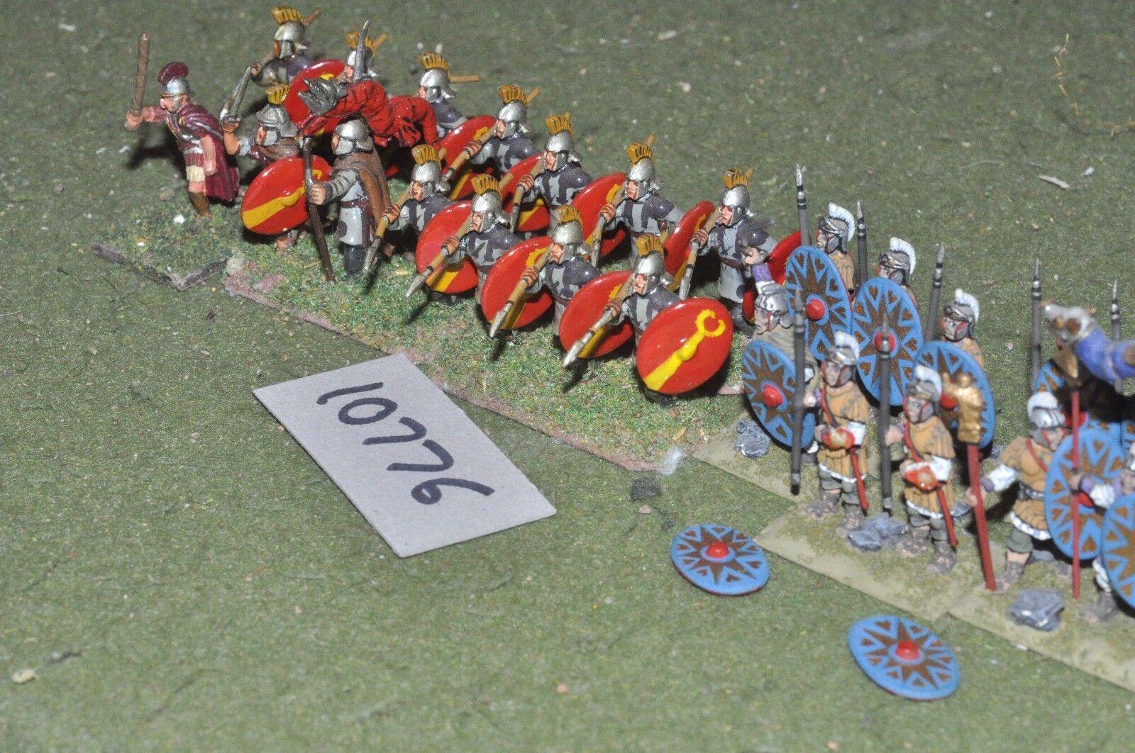 25mm roman era   roman - infantry 24 figs - inf (10776)