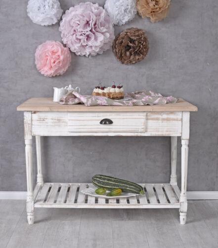 Küchenanrichte Wandtisch Tischkonsole Küchentisch Holztisch Konsolentisch Antik