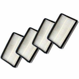 4-Pack HQRP Filter for Kenmore Canister 25512 25513 25614 25615 25812 25914