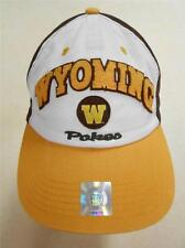 """NEW Wyoming Cowboys """"Pokes"""" ADULT ONE SIZE Top of the World Cap Hat BIN-60"""